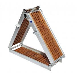 Gangway Modell Leicht mit Teak  2x klappbar 2m und 2.5m