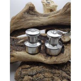 Salt and Pepper Shaker in stainless steel