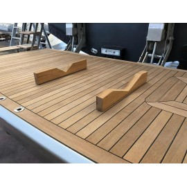 Removable DINGHY SUPPORTS for platforms and decks
