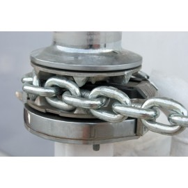 Anchor chaine in stainless steel calibrated
